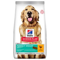 Hills Science Plan Adult 1+ Perfect Weight Large Breed Dry Dog Food (Chicken) 12kg big image
