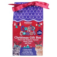 Rosewood Cupid & Comet Christmas Gift Box for Cats 120g big image