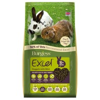 Burgess Excel Adult Rabbit Nuggets with Mint big image