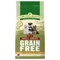 James Wellbeloved Adult Dog Grain Free Small Breed Dry Food (Turkey & Vegetables) big image