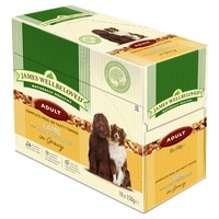 James Wellbeloved Adult Dog Lamb & Rice Pouches big image