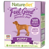 Naturediet Feel Good Wet Food for Puppies (Chicken & Lamb) big image