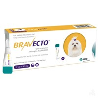 Bravecto 112.5mg Spot-On Solution for Toy Dogs (Single Pipette) big image
