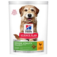 Hills Science Plan Senior Vitality Mature 7+ Small & Mini Breed Dry Dog Food (Chicken) big image