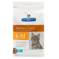 Hills Prescription Diet KD Dry Food for Cats (Tuna) big image