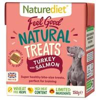 Naturediet Feel Good Natural Dog Treats (Turkey & Salmon) 150g big image