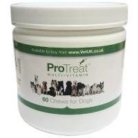 VetUK ProTreat Multi-Vitamin Dog 60 Chews big image