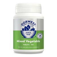 Dorwest Mixed Vegetable Tablets for Dogs and Cats big image