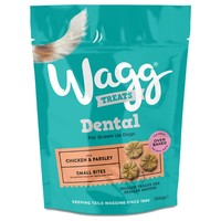 Wagg Dental Treats for Dogs (Chicken & Parsley) big image