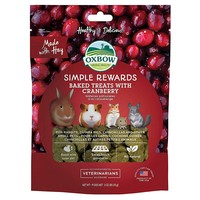 Oxbow Simple Rewards Baked Treats with Cranberry 85g big image