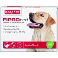 Beaphar FIPROtec Spot-On Solution for Large Dogs big image