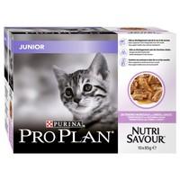 Purina Pro Plan NutriSavour Junior Kitten Wet Food Pouches (Turkey) big image
