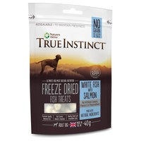 True Instinct Freeze Dried Dog Treats (White Fish with Salmon) 40g big image