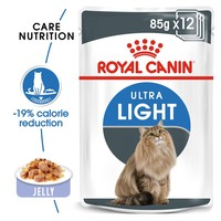 Royal Canin Ultra Light Care Pouches in Jelly Adult Cat Food big image