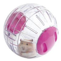 Rosewood Boredom Breakers Glitter Hamster Exercise Ball big image
