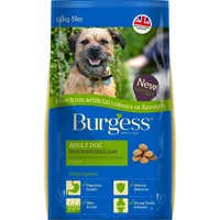 Burgess Free From Rich in British Lamb Adult Dog Food 15kg big image