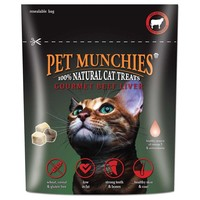 Pet Munchies Gourmet Beef Liver Cat Treats big image