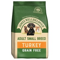 James Wellbeloved Adult Dog Grain Free Small Breed Dry Food (Turkey & Vegetables) 1.5kg big image