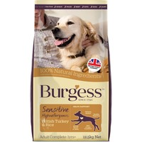 Burgess Sensitive Adult Dog Turkey & Rice big image