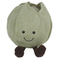 Rosewood Cupid & Comet Squeaky Sprout Soft Dog Toy big image