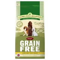 James Wellbeloved Adult Dog Grain Free Dry Food (Lamb & Vegetables) big image