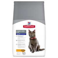 Hills Science Plan Mature 7+ Sterilised Adult Cat Food (Chicken) big image