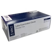 Select Latex Examination Powder Free Gloves (Box of 100) big image