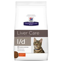 Hills Prescription Diet LD Dry Food for Cats 1.5kg big image