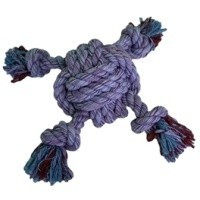 Nuts for Knots Ball 4 Way Tugger Dog Toy big image