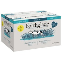 Forthglade Complete Meal Grain Free Dog Food (Fish Variety Pack) big image