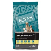 Burns Weight Control+ Dog Food (Chicken and Oats) big image