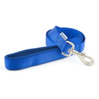 Ancol Heritage Padded Nylon Dog Lead 1.8m (Blue) big image