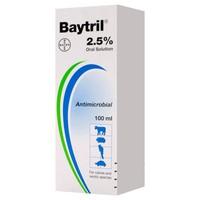 Baytril 2.5% Oral Solution 100ml big image