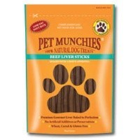 Pet Munchies Beef Liver Sticks for Dogs 90g big image