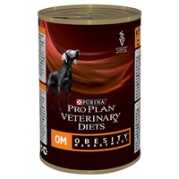 Purina Pro Plan Veterinary Diets OM Obesity Management Wet Dog Food Tins big image