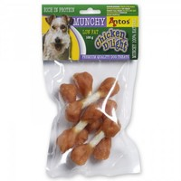 Antos Chicken D'Light Munchy Dog Treats 100g big image