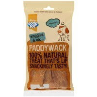 Good Boy Waggles & Co Paddywack Natural Dog Treats 200g big image