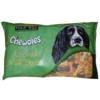Foldhill Chewdles Bonibix Assorted Mini Bone Dog Biscuits 1.5kg big image