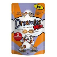 Dreamies Mix Chicken and Duck Flavoured Cat Treats 60g big image