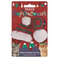 Rosewood Cupid & Comet Winter Warmer Cat Toys big image