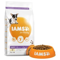 Iams for Vitality Small/Medium Breed Puppy Food (Fresh Chicken) big image