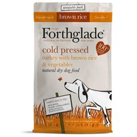 Forthglade Cold Pressed Natural Dry Dog Food (Turkey and Brown Rice) 6kg big image