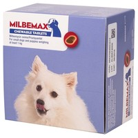 Milbemax Chewable Worming Tablets for Small Dogs and Puppies big image