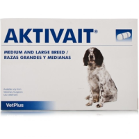 Aktivait Capsules for Medium/Large Dogs (Pack of 60) big image