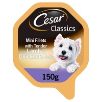 Cesar Classics Adult Wet Dog Food Trays in Loaf (Lamb & Chicken) big image