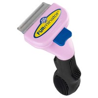 FURminator Short Haired Cat deShedding Grooming Tool big image