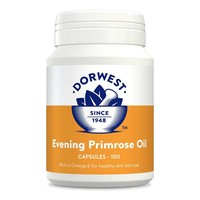 Dorwest Evening Primrose Oil Capsules for Dogs and Cats big image