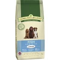 James Wellbeloved Junior Dog Fish and Rice big image