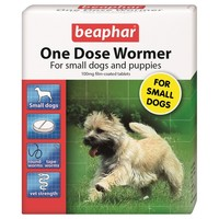 Beaphar One Dose Wormer for Small Dogs and Puppies (3 Pack) big image