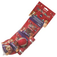 Rosewood Cupid & Comet Christmas Dinner Dog Stocking big image